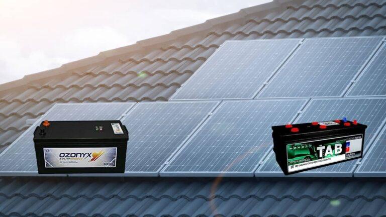 On col·locar les bateries solars